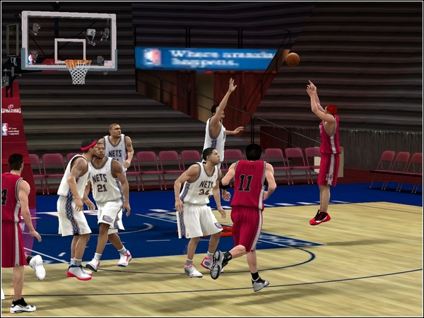 NBA 2K10 SLAM DUNK