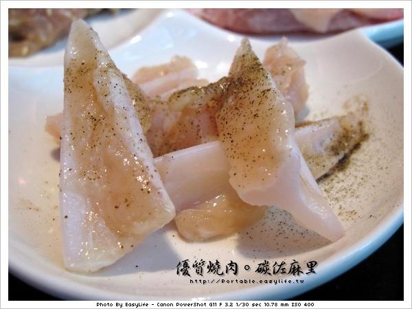 碳佐麻里燒肉。日本料理。雞軟骨