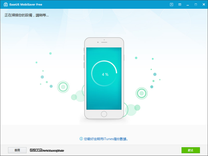 EaseUS MobiSaver,iPhone、iPad、iOS 檔案救援