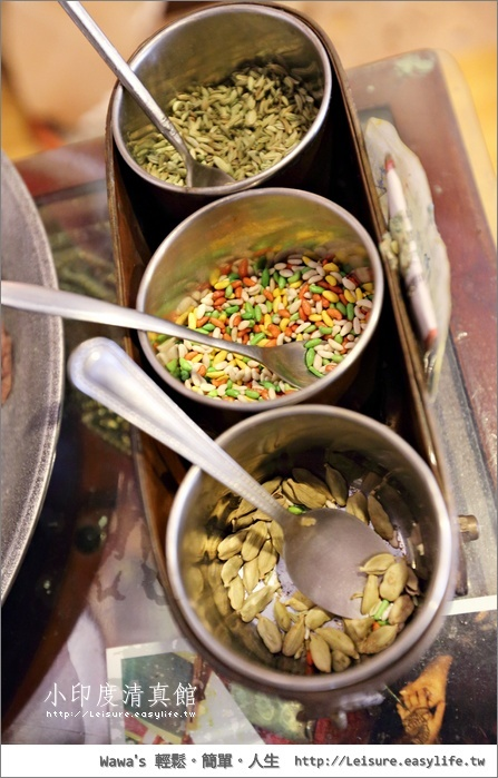 小印度清真館。台中印度料理