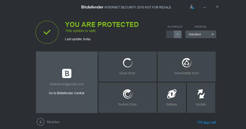 Bitdefender Internet Security giveaway 半年序號