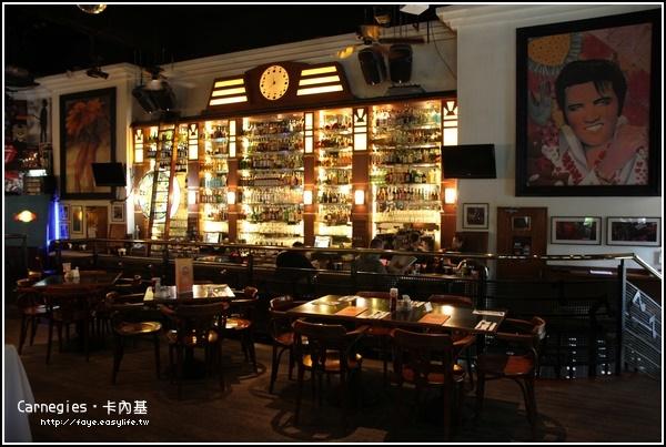台北【Carnegies卡內基 美式餐廳】。