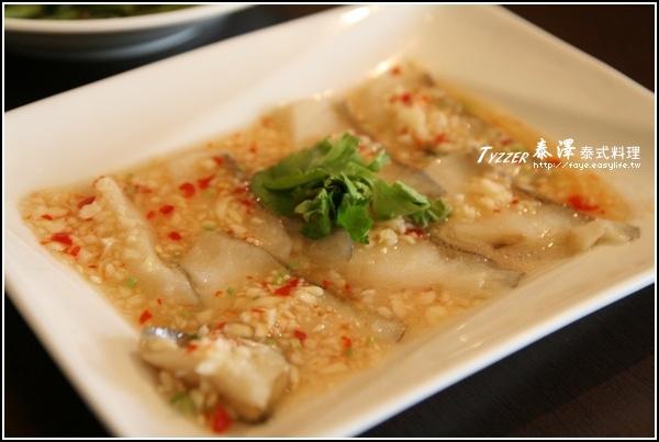 台南【泰澤 泰式料理】。檸檬魚