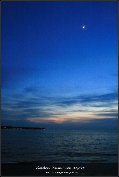 馬來西亞。浪漫又做作的海邊晚餐 @黃金棕櫚渡假村