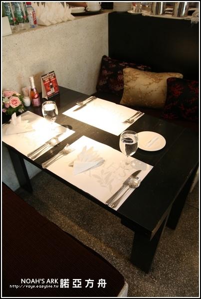 台南【NOAH'S ARK 諾亞方舟主廚餐廳】。