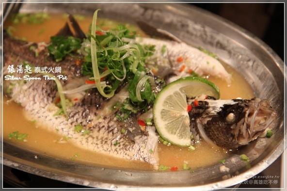高雄【銀湯匙】。檸檬魚